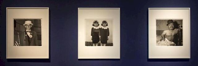 Diane Arbus / En el principio // Malba
