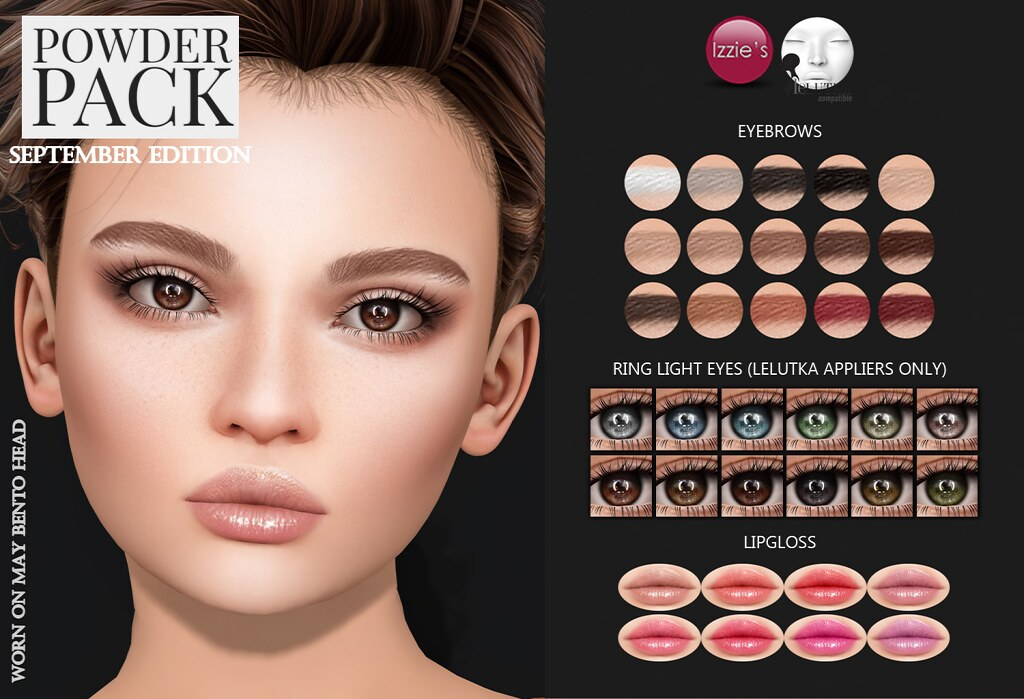 Powder Pack LeLutka September Edition - SecondLifeHub.com