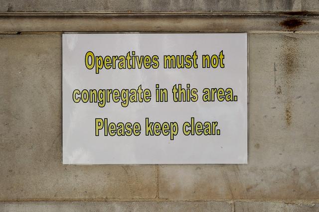 Operatives Must Not Congregate, Nikon DF, AF Nikkor 50mm f/1.8