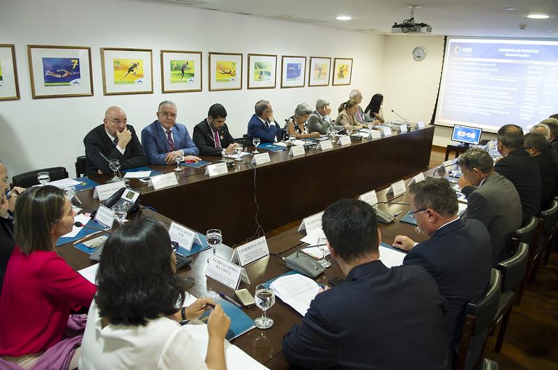 Reunião de monitoramento das determinações presidenciais - 09/08/17