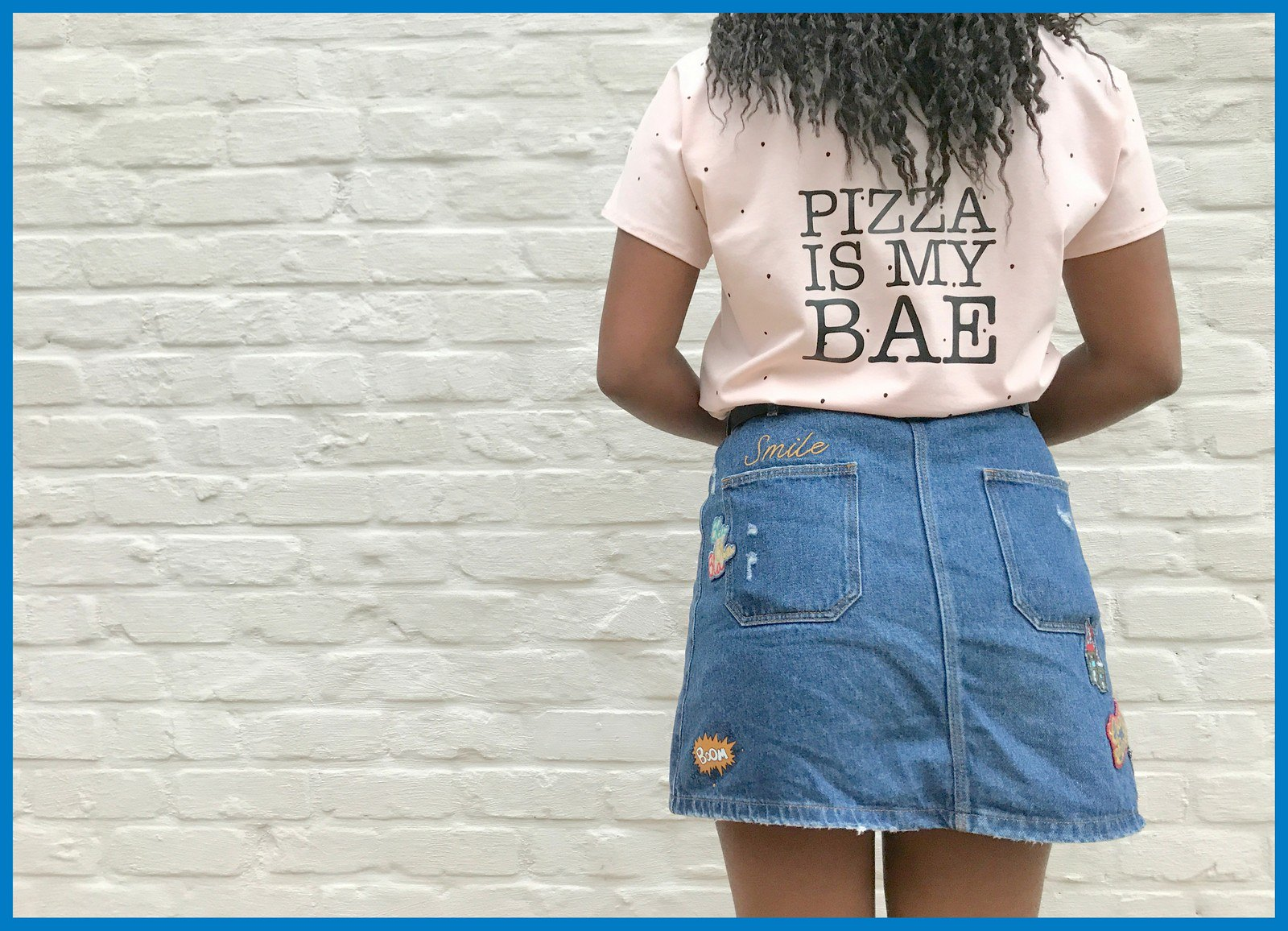 pizza t-shirt (back)