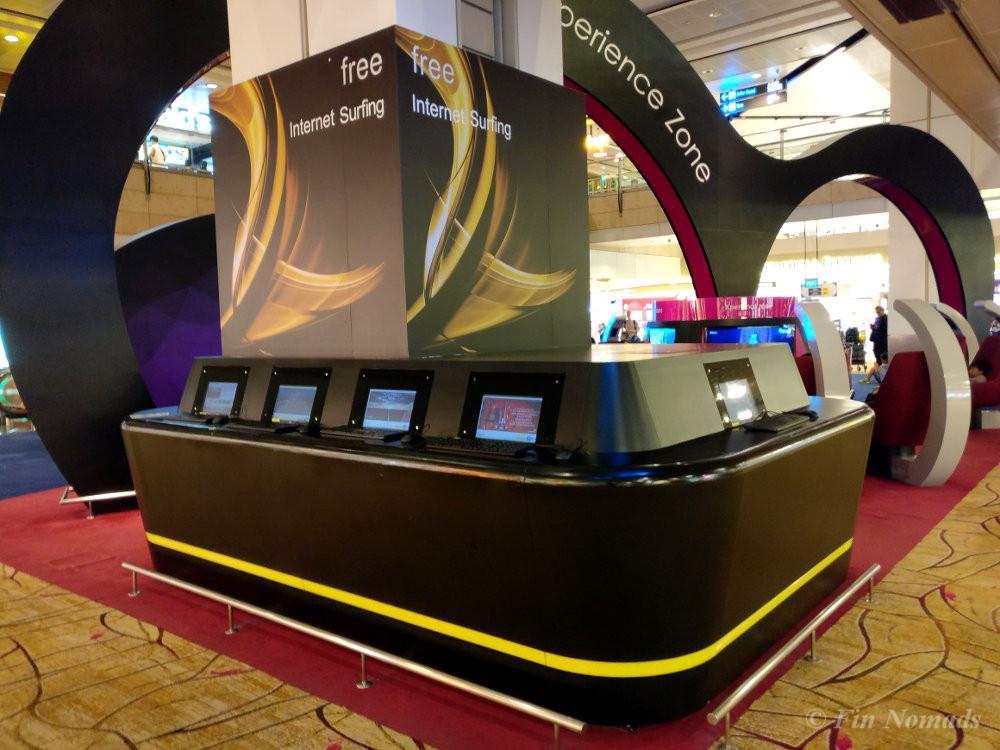 free internet singapore airport