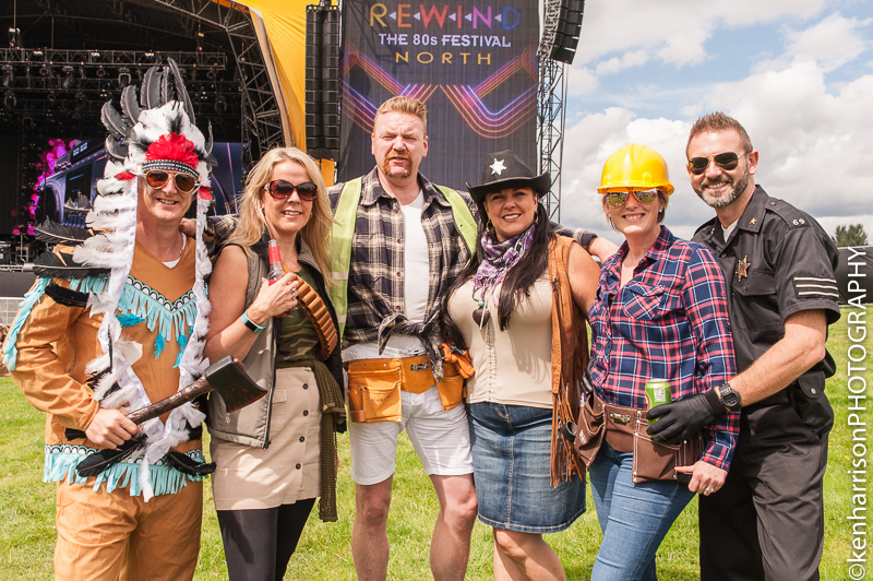 Rewind Festival Band, Macclesfield, UK
