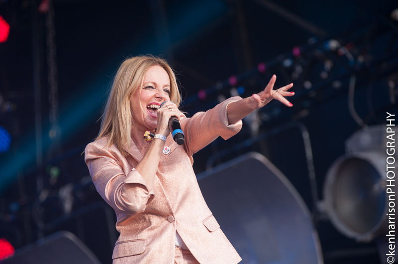 05th August, 2017. Altered Images' Clare Grogan at Rewind North, Macclesfield, UK