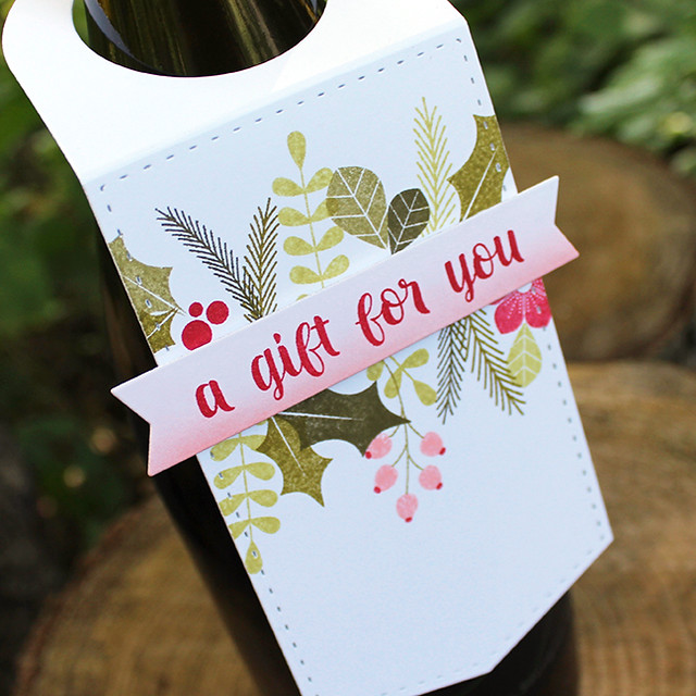 A Gift For You Wine Bottle Tag 3