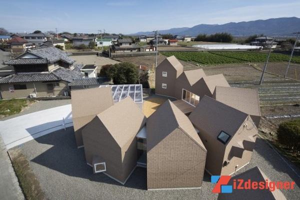 Xu hướng nổi loạn trong kiến trúc nhà ở Nhật Bản