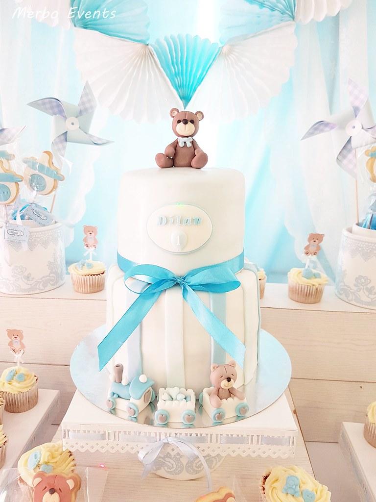 tarta Cumpleaños Osito Merbo Events