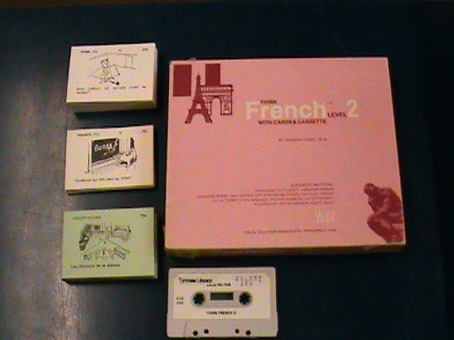 Think French, with cards & cassette, Level 2