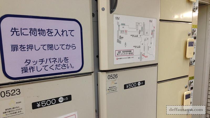 2 Hari Keliling Osaka - Locker Coin