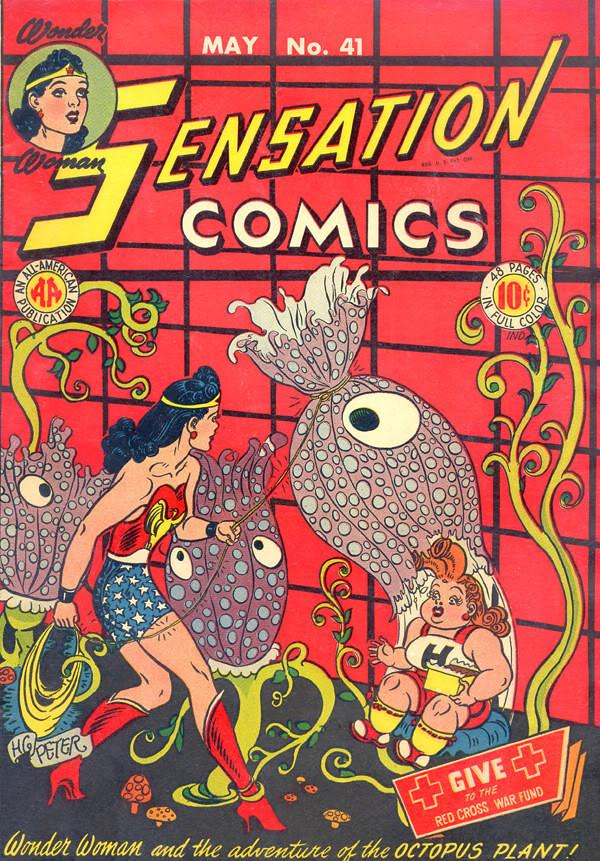 Sensation #41 cover