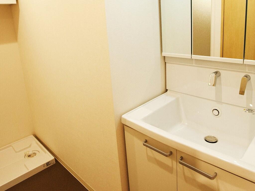 リノベーション後:洗面スペース