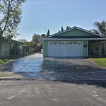 Large New Driveway And Side Area Concrete In West Sacramento