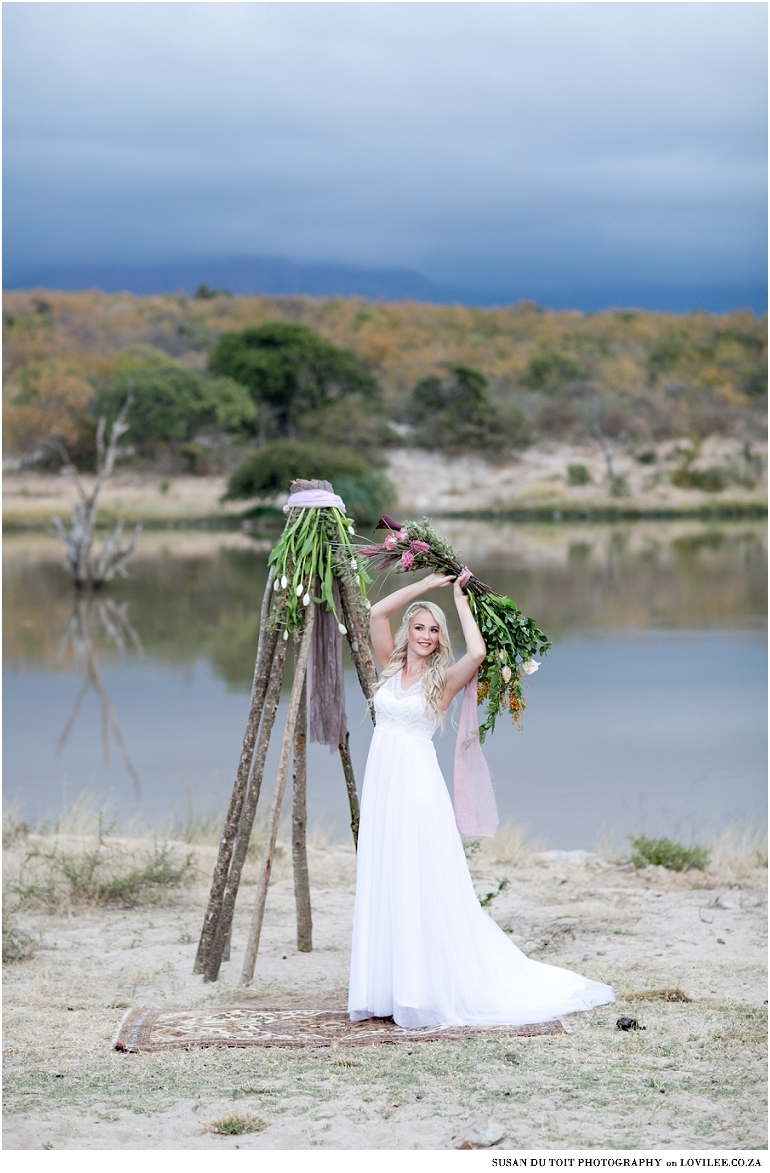 Bridal safarie styled shoot