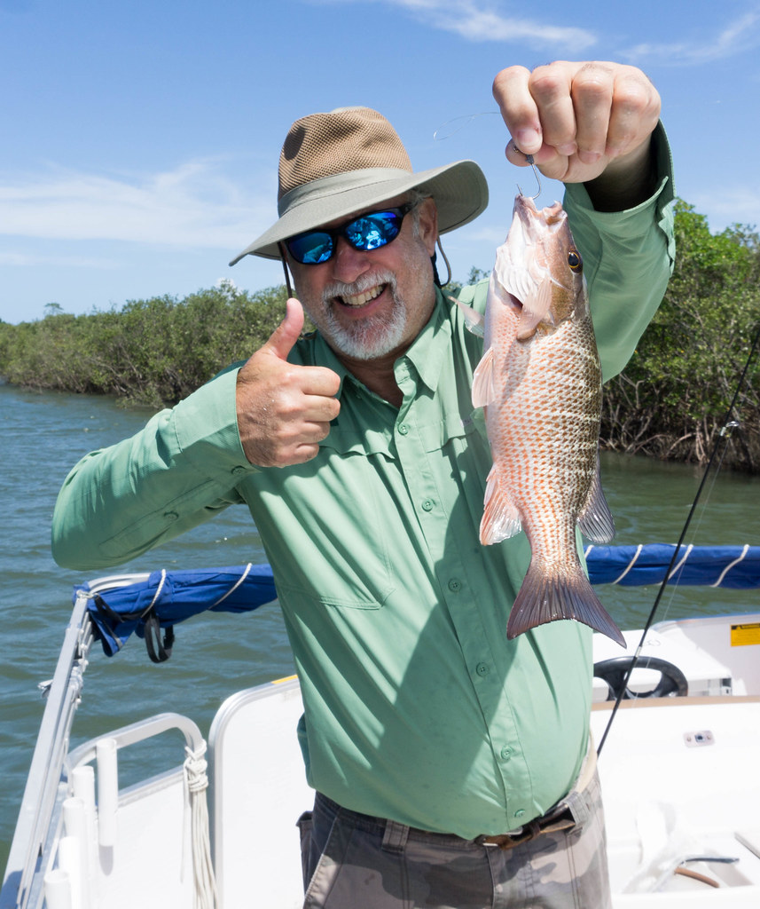 Ken Shows Off One of Too Many to Count Catches During a Fishing Trip with Capt. Rachel Reynolds of R&R Charters in Port Orange, Daytona Beach, FL, July 14, 2017
