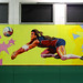 School gym - detail 6: volleyball - by WIZ ART