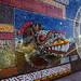 Vitro Mural Monumental -  Paseo de la Barranca - Zacatlán de las Manzanas - Puebla -México por Luis Enrique Gómez Sánchez