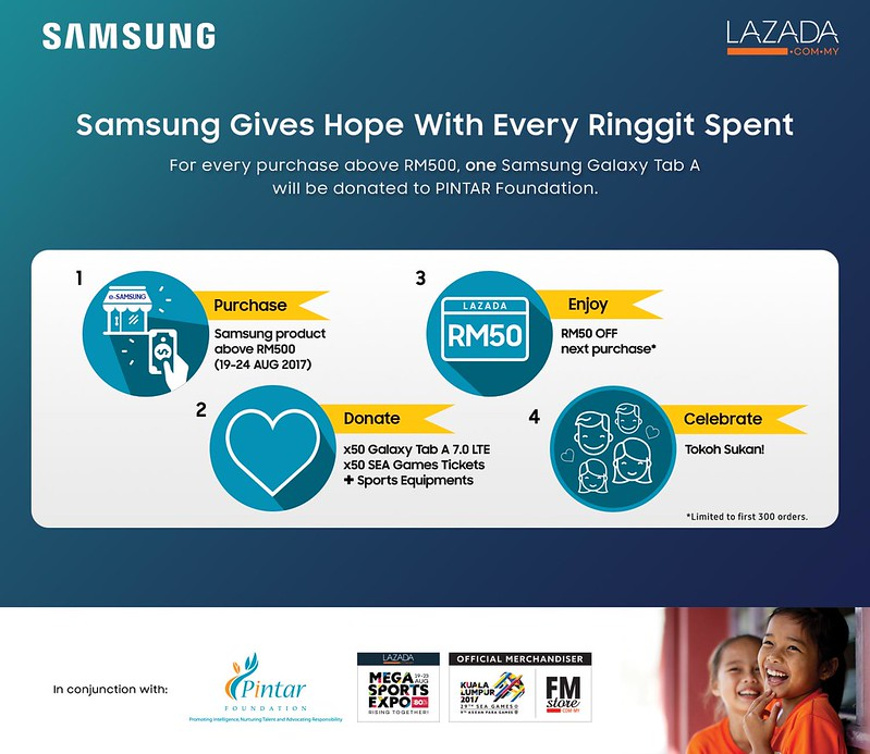 Samsung Gives Hope With Every Ringgit Spent