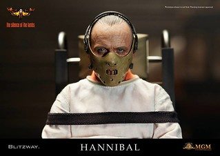 BLITZWAY - 《沈默的羔羊》1/6 比例【漢尼拔·萊克特博士 拘束服Ver.】 The Silence of the Lambs Hannibal Lecter Straitjacket ver.
