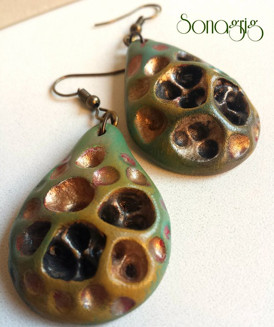 #sonagrigoryan #polymerclay #earrings