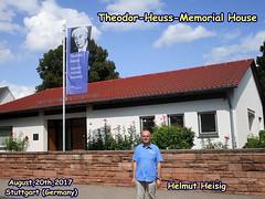 Theodor-Heuss-Memorial House,August,20th,2017,Stuttgart (Germany)