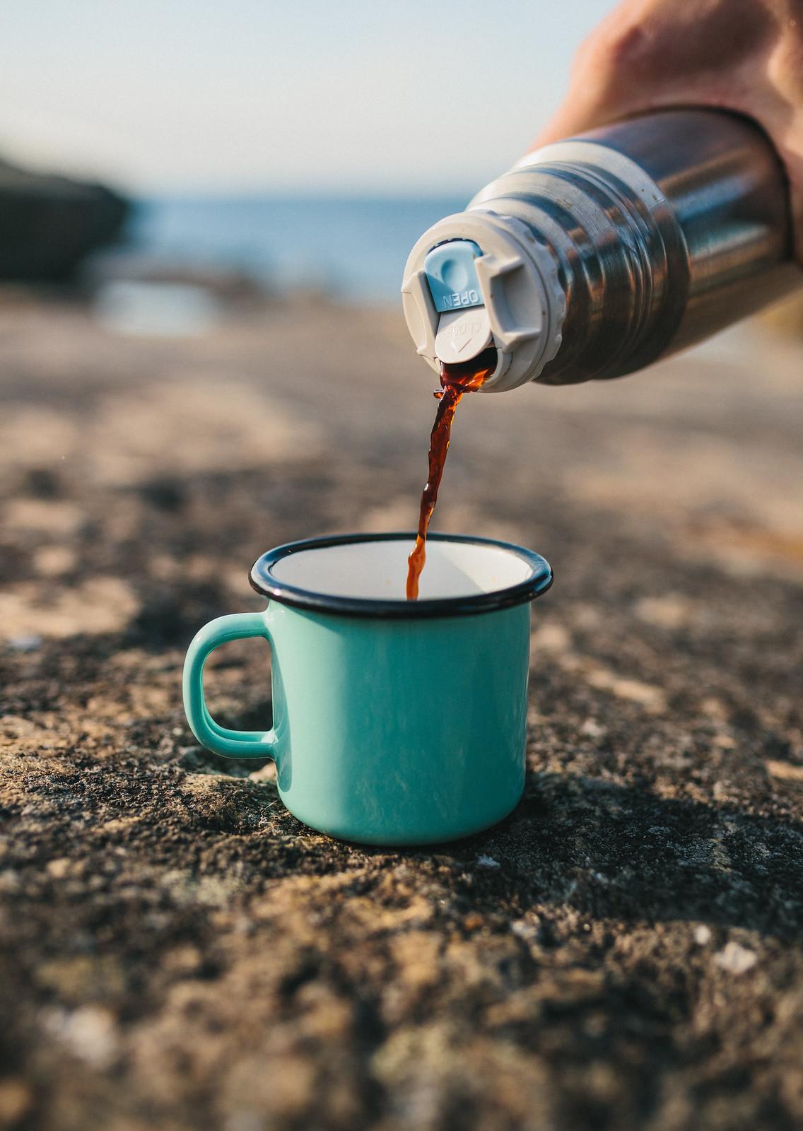 Kaffe i emaljmugg - karinevelina.se