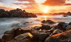 sunset ( ile de la reunion)