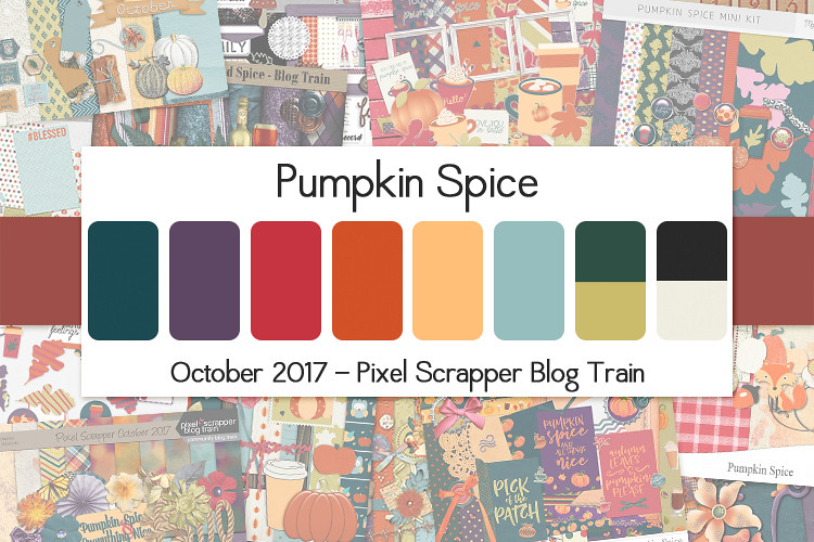 October 2017 Blog Train - Pumpkin Spice