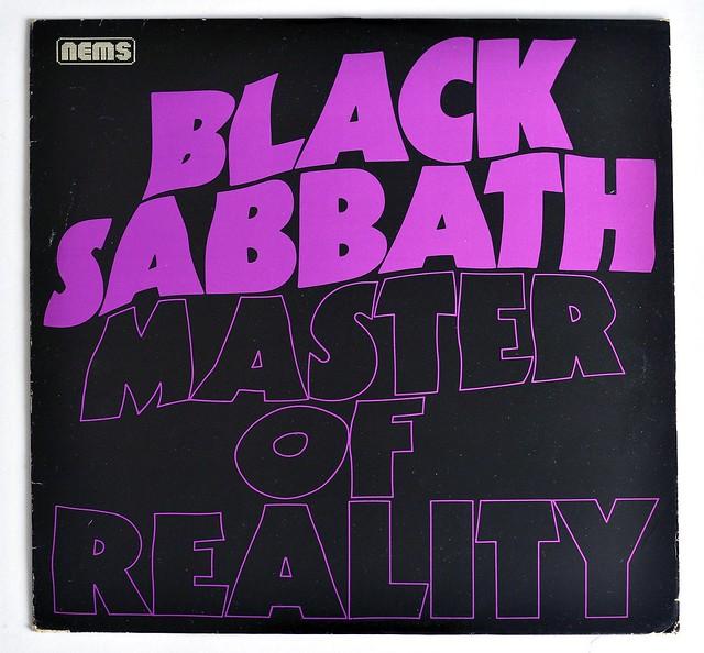 A0394 BLACK SABBATH Master of Reality