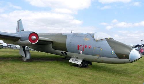 WH791 'Royal Air Force' English Electric Canberra PR7 on 'Dennis Basford's railsroadsrunways.blogspot.co.uk