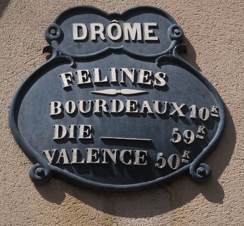 Felines sur Rimandoule, Drome