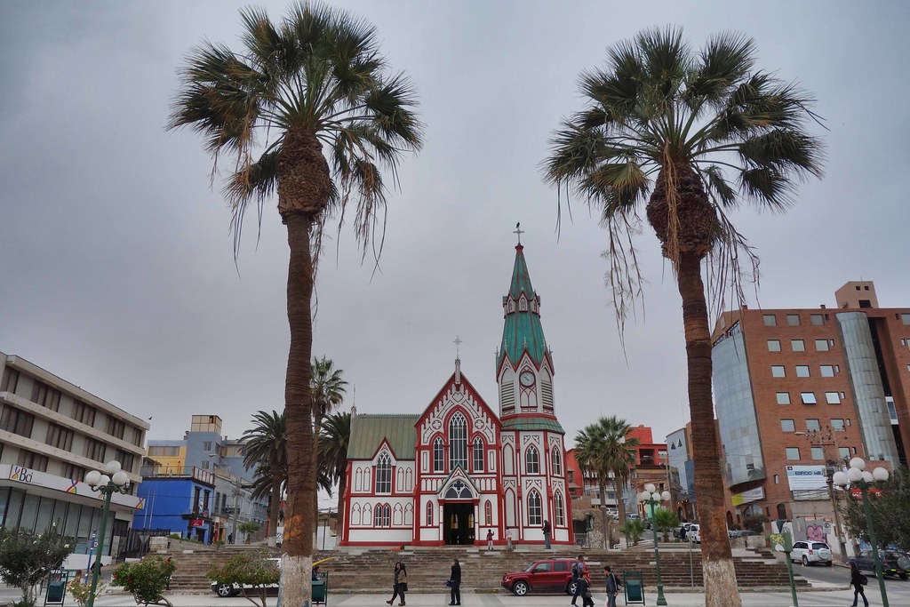 Arica - Cathedrale San Marcos