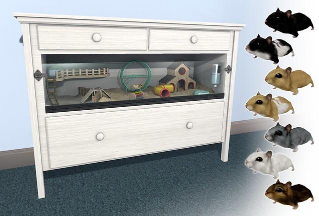 JIAN Hamster Habitat (Fifty Linden Fridays)