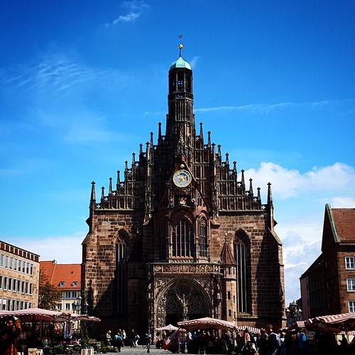 Frauenkirche ad Hauptmarkt, Norimberga