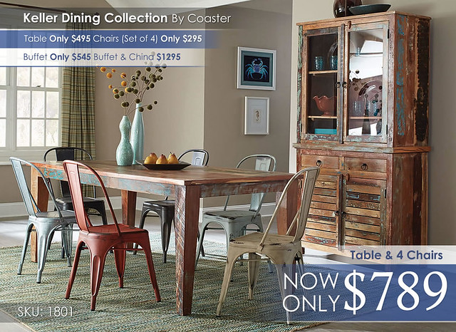 Keller Dining Collection 180161 105612 105615 180174