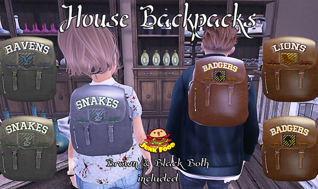 Junk Food - House Packs Ad - SecondLifeHub.com