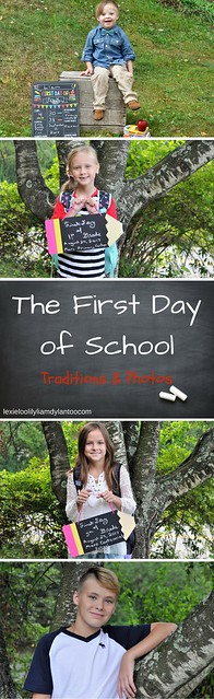 The First Day of School Traditions & Photos