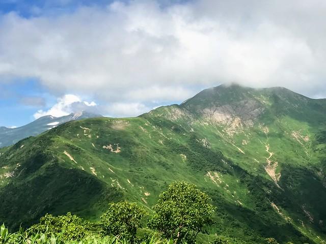 美濃禅定道 三ノ峰から別山・白山