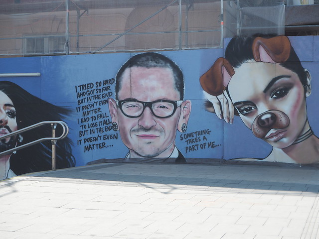 Chester Bennington - Museums Quartier, Vienna