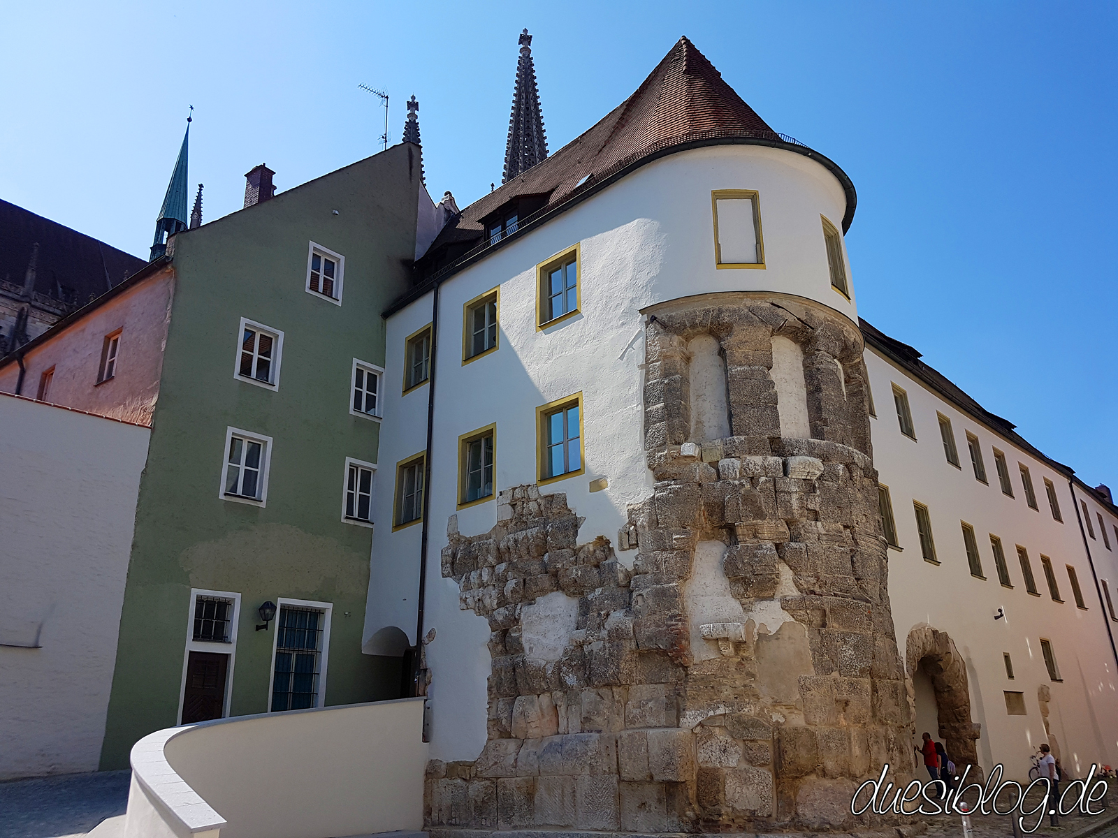 Regensburg Romans Wall Travelblog duesiblog 05