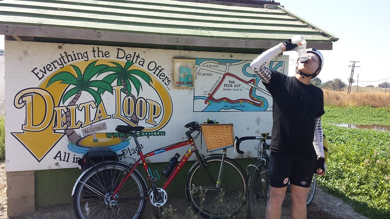 Cycling around the Delta Loop