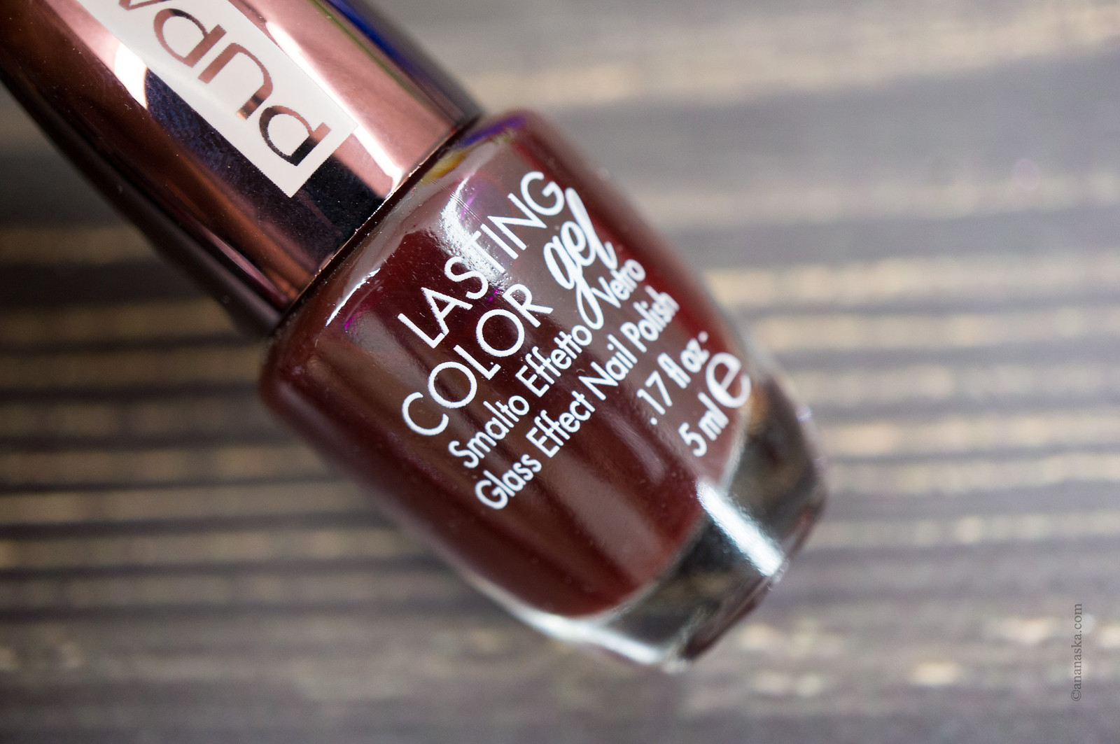 PUPA Lasting Color Gel 181 Exclusive Burgundy