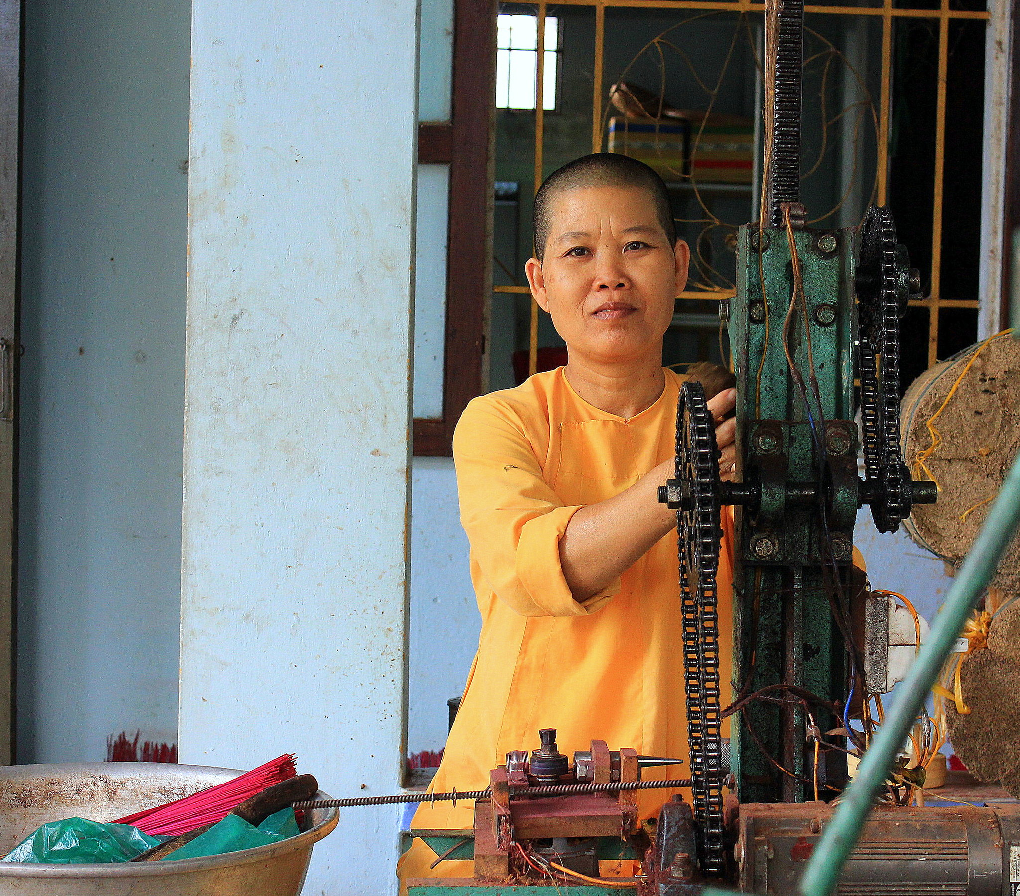 Central Highland of Vietnam has small monasteries run by women