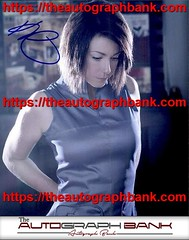 Kim Rhodes authentic signed memorabilia