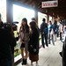 在攝影禁止的木橋上攝影而被記者無情拷問的姐姐