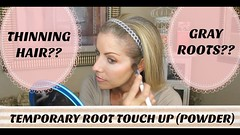 Camouflage Thinning Hair & Gray Roots - Temporary Root Touch Up Powder