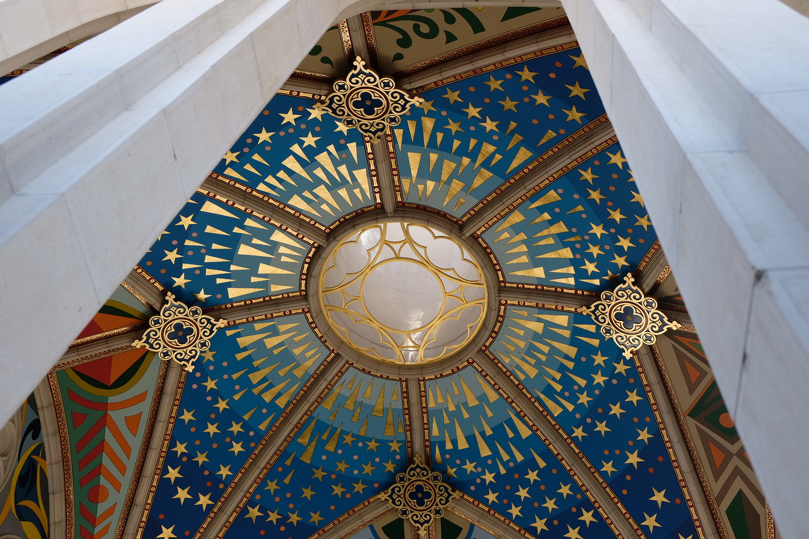 The Dome of the Cathedral of Alemundo | 2 Days in Madrid