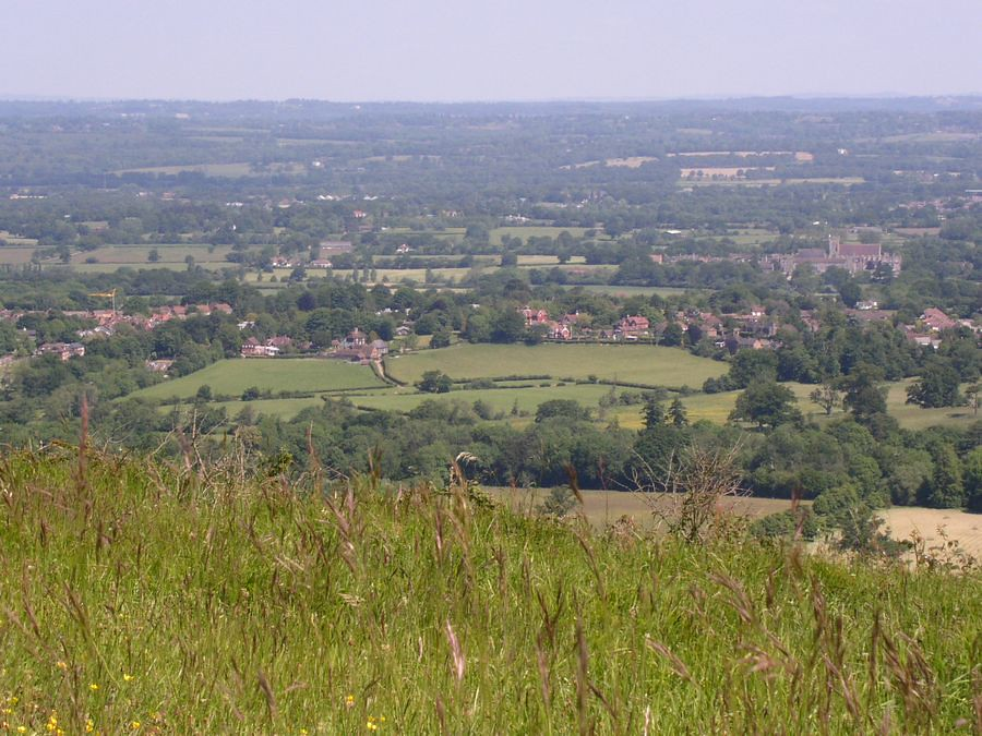 View from Wolstonbury Hill 2
