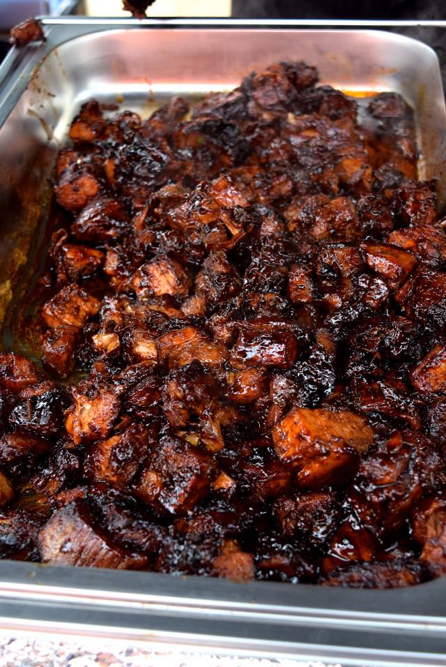 Asian Barbecue Pork Belly at Smokin' Lotus | www.rachelphipps.com @rachelphipps