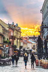 Kaunas old town | Autumn Sunset