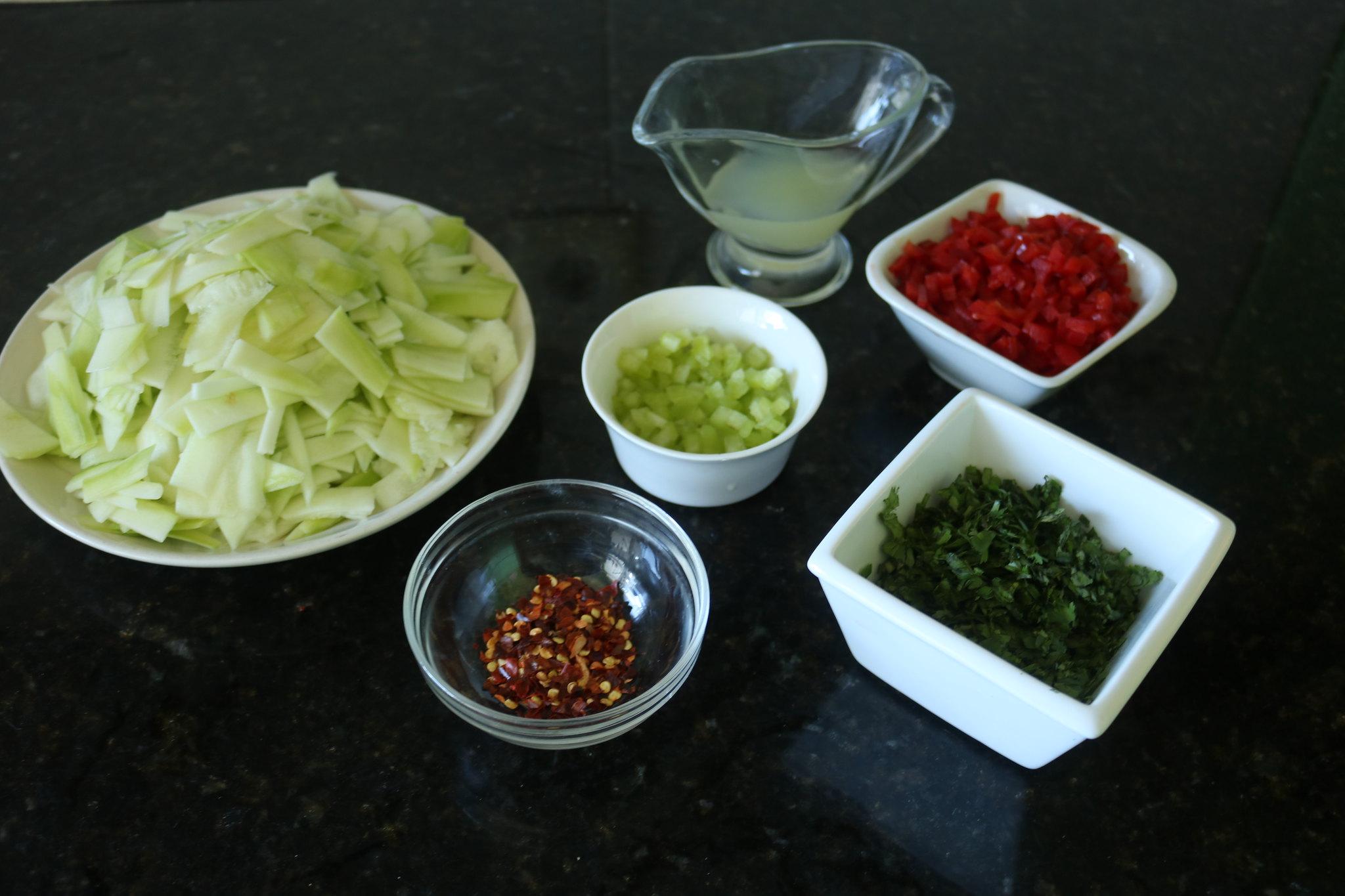 Ceviche de Abobrinha